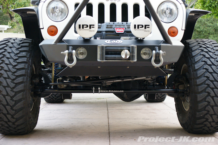 Rock Krawler Tie Rod Ends : Tie rod and drag link replacement jeep wrangler forum