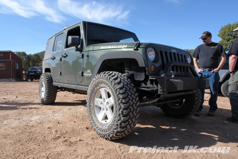 No Fender Kit Jeep Wrangler Forum