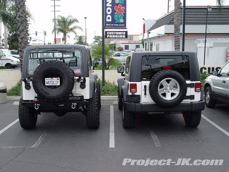Tj Vs Jk Photos Forum The Top Destination For Jeep And Jl Wrangler News Rumors Discussion