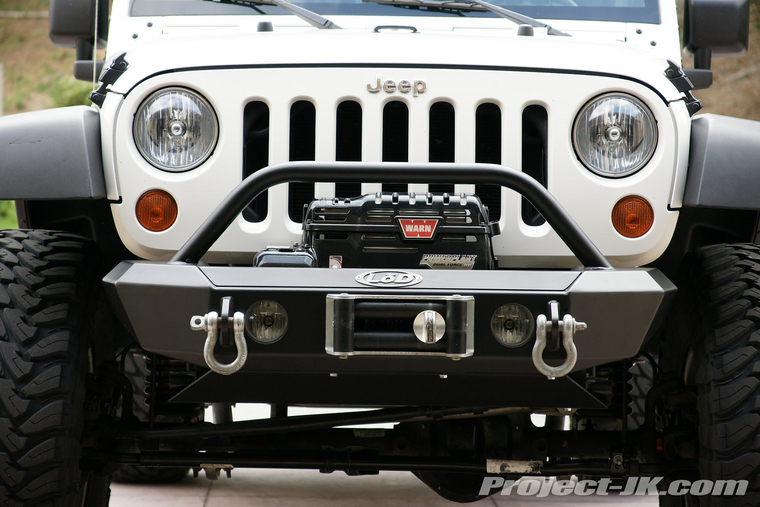 Lod Signature Series Shorty Front Winch Bumper
