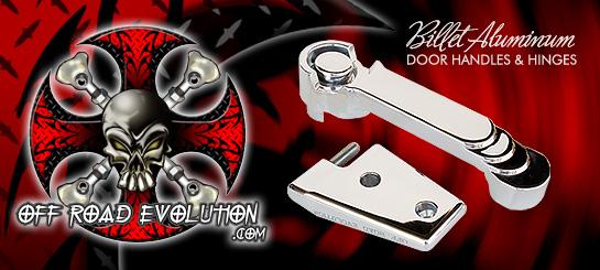 Off Road Evolution Billet Aluminum Door Handles