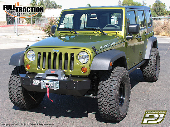 As promised, here's a shot of Full Traction's 2007 Jeep JK Wrangler Rubicon