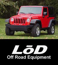 LoD Jeep JK Wrangler Front Bumper