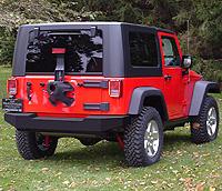 LoD Jeep JK Wrangler Rear Bumper