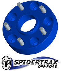 Spidertrax Wheel Spacers & Adapters for Jeep JK Wranglers