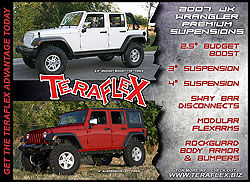 TeraFlex Jeep JK Wrangler Suspension Products