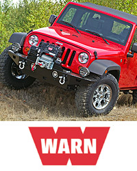 WARN Jeep JK Wrangler Rock Crawler Front Bumper